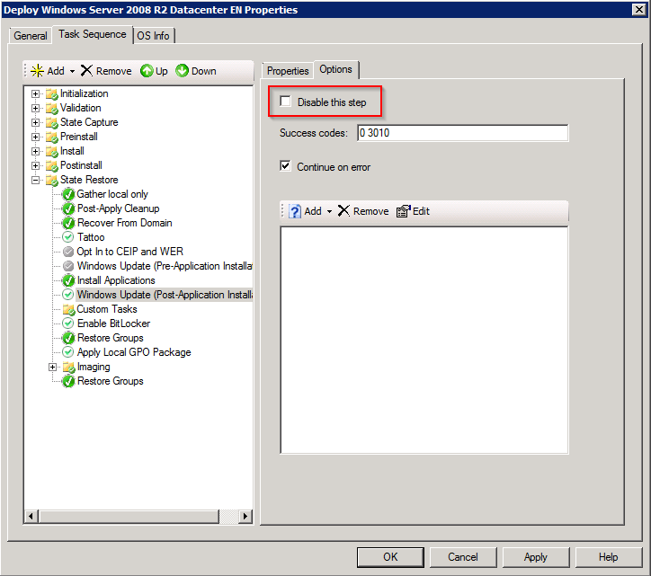 Automating updates during MDT 2013 Lite-Touch deployments
