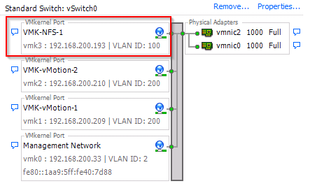 vSphere Lab Storage: Synology DS414slim Part 2 – Networking