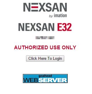 nexsan_gui_1