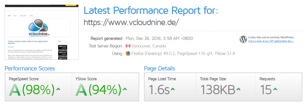 vcloudnine_performance_gtmetrix